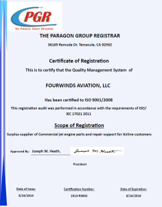 ISO 9001/2008 Certification